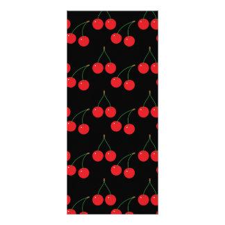 Cherry Fruit Pattern Rack Card