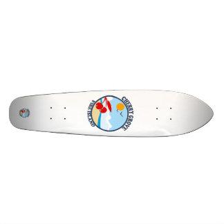 Cherry Grove. 21.6 Cm Old School Skateboard Deck