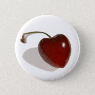 Cherry Heart Button