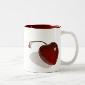 Cherry Heart Mug