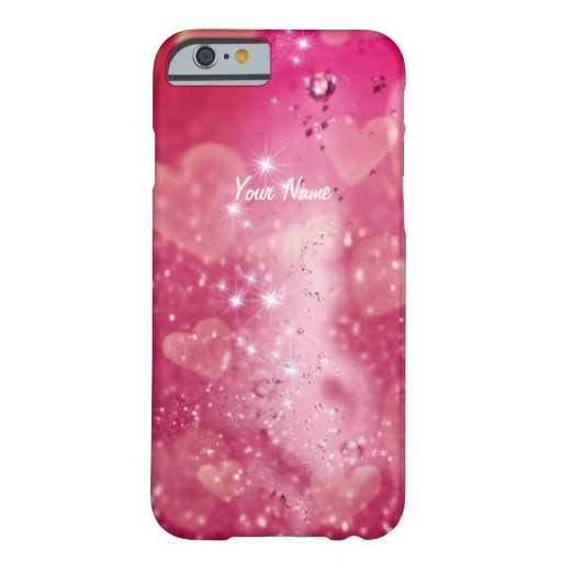 Cherry Heart Sparkle - iPhone 6 Case