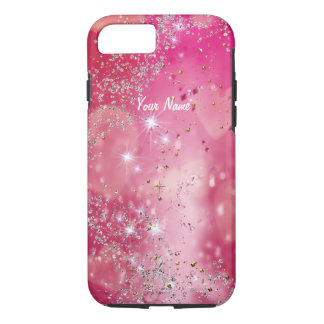 Cherry Heart Sparkle - iPhone 7 Case