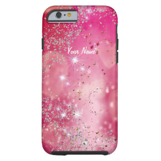Cherry Heart Sparkle - Tough iPhone 6 Case