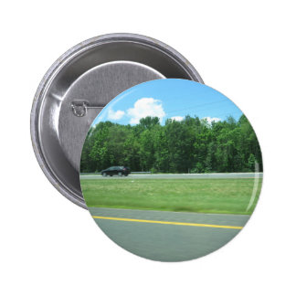 CHERRY HILL NJ JERSEY USA GIFTS NATURE GREEN 6 CM ROUND BADGE