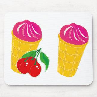 Cherry Ice Cream Mousepads