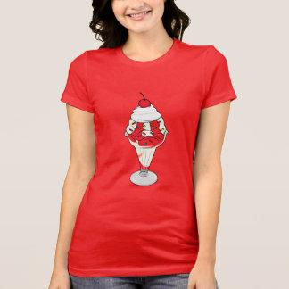 Cherry Ice Cream Sundae T-Shirt