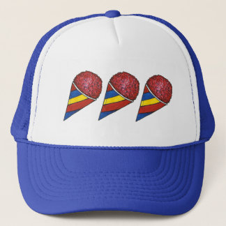 Cherry Ice Sno Cone Cones Snocone Summer Food Hat