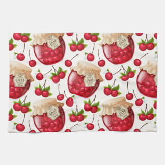 Cherry Jam Tea Towel