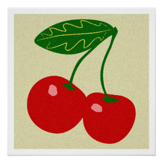 Cherry, Kitchen Art, Food, Minimalist