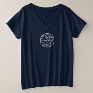 Cherry Lawn School Blue Plus size T-shirt