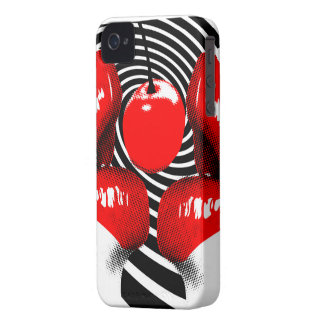 Cherry Lips BlackBerry Bold Case-Mate Barely There iPhone 4 Cases