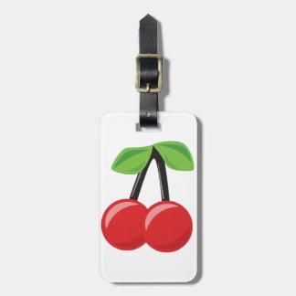 Cherry Luggage Tag