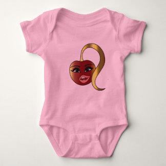 Cherry Naughty original design logo baby body suit T-shirt