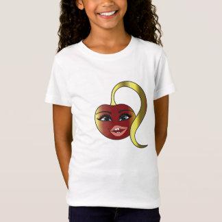 Cherry Naughty original design logo girls shirt