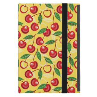 Cherry pattern cover for iPad mini