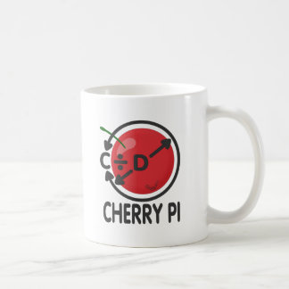 Cherry Pi Basic White Mug