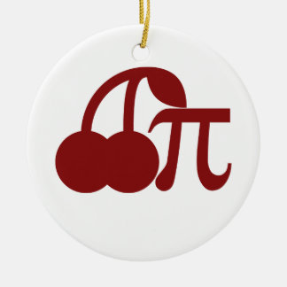Cherry Pi Christmas Ornament