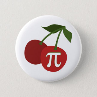 Cherry Pi Day 6 Cm Round Badge