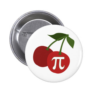 Cherry Pi Day 6 Cm Round Badge