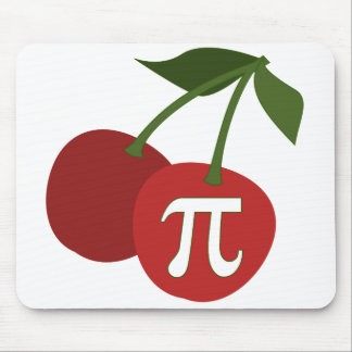 Cherry Pi Day Mousepads