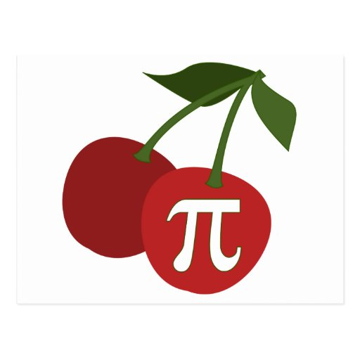Cherry Pi Day Post Cards