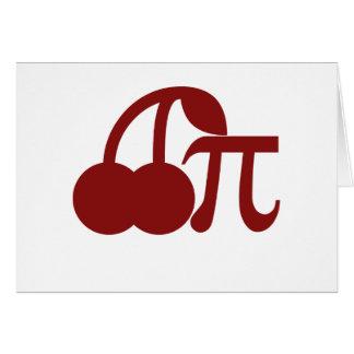 Cherry Pi Greeting Cards