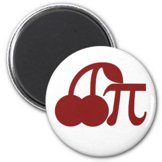 Cherry Pi Refrigerator Magnet