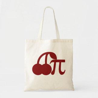 Cherry Pi Tote Bags