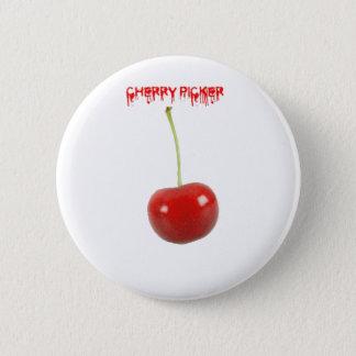 Cherry Picker 6 Cm Round Badge
