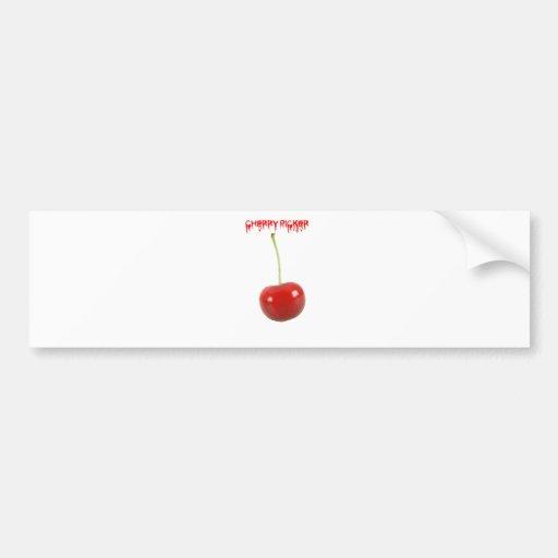 Cherry Picker Bumper Sticker