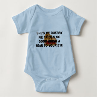 cherry pie baby bodysuit