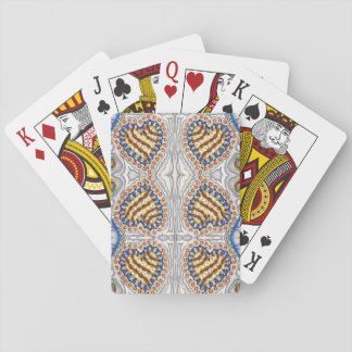 Cherry Pie Hearts Playing Cards