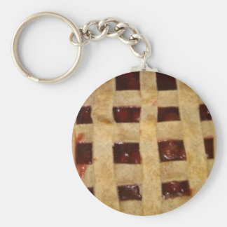 Cherry Pie Key Ring