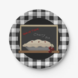Cherry Pie Paper Plate 7 Inch Paper Plate