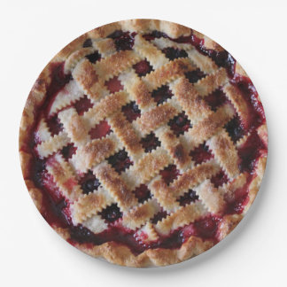 Cherry Pie Party Paper Plates 9 Inch Paper Plate