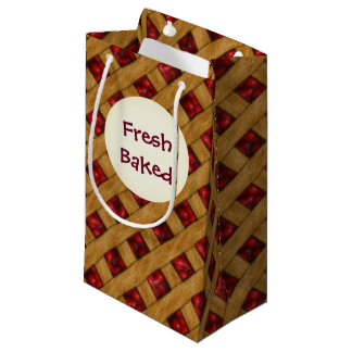 Cherry Pie, Red Cherries, Dessert, Pie, Bakery Small Gift Bag