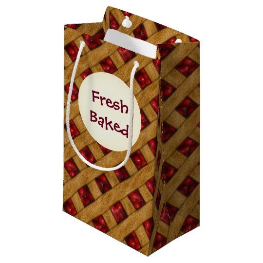 Cherry Pie, Red Cherries, Dessert, Pie, Bakery Small Gift Bag