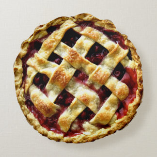 Cherry Pie Round Cushion