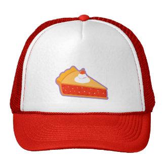 Cherry pie with whipped cream cap