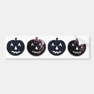Cherry pumpkin bumper sticker