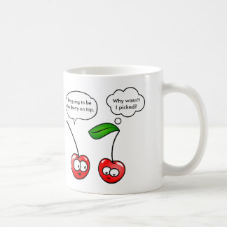 Cherry Puns Coffee Mug