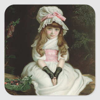Cherry Ripe, 1879 d Square Sticker