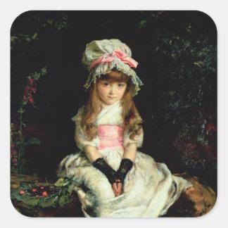 Cherry Ripe, 1879 Square Sticker