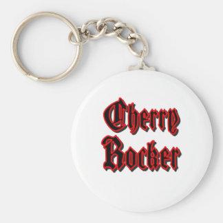 Cherry Rocker - White Keychain #2