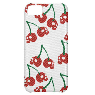 Cherry Skulls Red Case For iPhone 5C