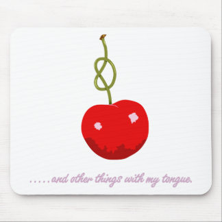 Cherry Stem Mouse Pad