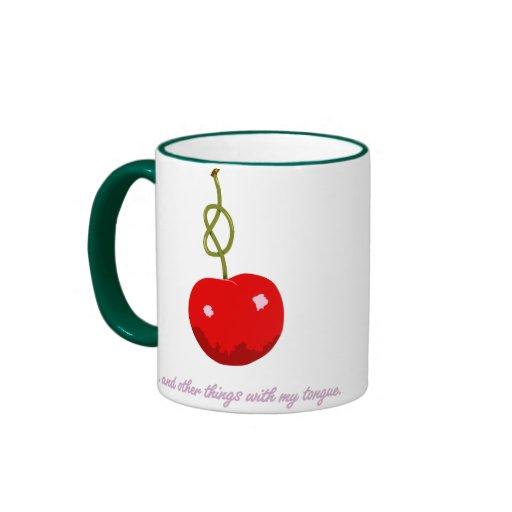 Cherry Stem Coffee Mug