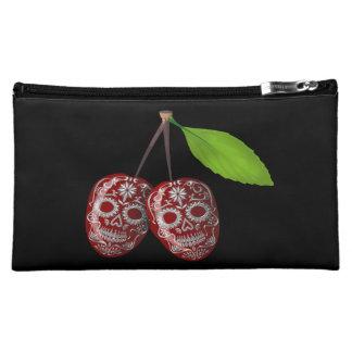 Cherry Sugar Skull Cosmetic Bag