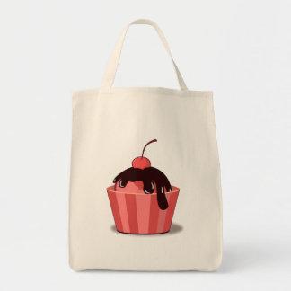 Cherry Sundae Canvas Bags