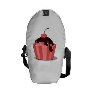 Cherry Sundae Courier Bag